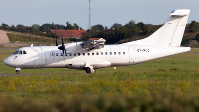 OY-RUO - ATR 42-500 - Danish Air Transport (DAT)