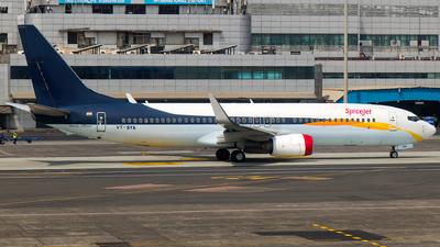 VT-SYA - Boeing 737-85R - SpiceJet