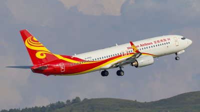 B-5733 - Boeing 737-84P - Hainan Airlines