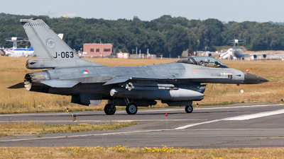 J-063 - General Dynamics F-16AM Fighting Falcon - Netherlands - Royal Air Force