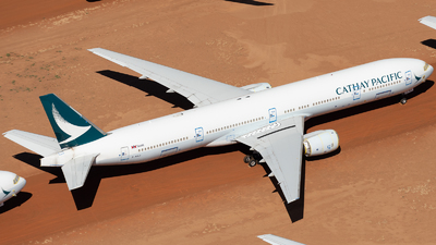 A picture of BHNJ - Boeing 777367 - Cathay Pacific - © Mitch Coad
