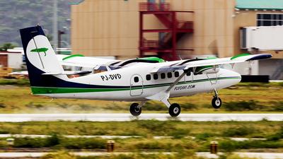 A picture of PJDVD - De Havilland Canada DHC6300 Twin Otter - Divi Divi Air - © Hensley Garcia