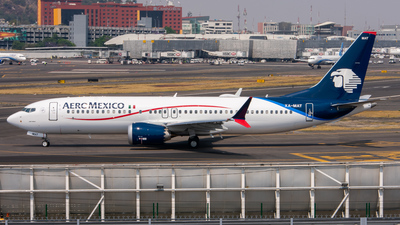 XA-MAT - Boeing 737-8 MAX - Aeroméxico