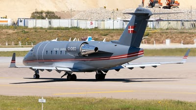 C-080 - Bombardier CL-600-2B16 Challenger 604 - Denmark - Air Force