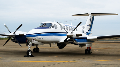 JA861A - Beechcraft B300 King Air 350 - Japan - Coast Guard