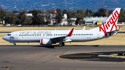 A picture of VHYFI - Boeing 7378FE - Virgin Australia - © Chow Kin Hei