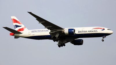 G-YMMI - Boeing 777-236(ER) - British Airways