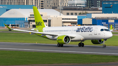 A picture of YLABE - Airbus A220300 - Air Baltic - © Olga Ivanova