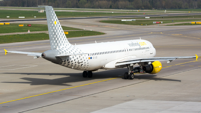 EC-JZI - Airbus A320-214 - Vueling Airlines