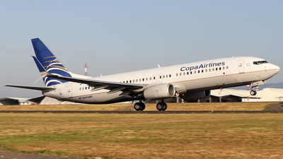 A picture of HP1841CMP - Boeing 7378V3 - Copa Airlines - © Denis Gonzalez - Costa Rica Spotter