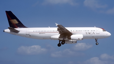 N454TA - Airbus A320-233 - TACA International Airlines