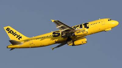 N606NK - Airbus A320-232 - Spirit Airlines