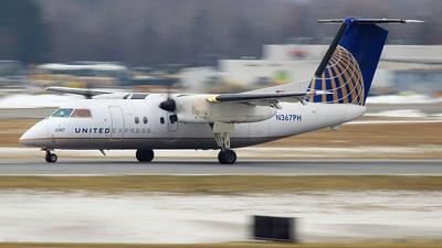 N367PH - Bombardier Dash 8-Q202 - United Express (Commutair)