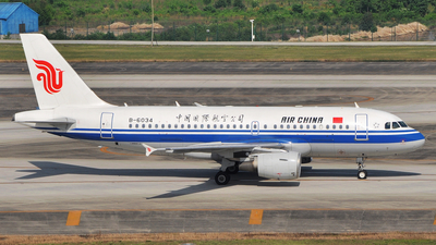 B-6034 - Airbus A319-115 - Air China