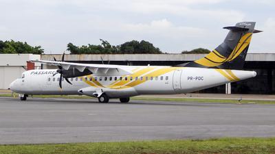 PR-PDC - ATR 72-212A(600) - Passaredo Transportes Aéreos
