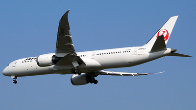 JA870J - Boeing 787-9 Dreamliner - Japan Airlines (JAL)