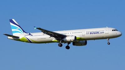 A picture of HL7729 - Airbus A321231 - Air Busan - © Yoshiharu Mohri