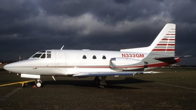 N333GM - Rockwell Sabreliner 40 - Private