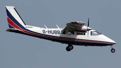 A picture of GHUBB - Partenavia P68B Victor - Ravenair - © Ian Howat