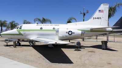 62-4465 - North American TC-39A Sabreliner - United States - US Air Force (USAF)
