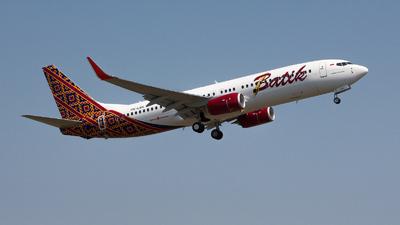 PK-LBK - Boeing 737-8GP - Batik Air
