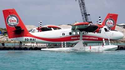 A picture of 8QMAI - De Havilland Canada DHC6300 Twin Otter - Trans Maldivian Airways - © Indy Udol