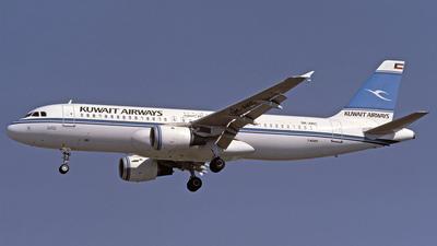 9K-AKC - Airbus A320-212 - Kuwait Airways