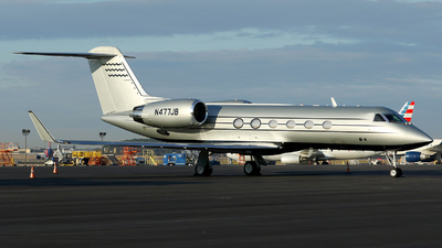 N477JB - Gulfstream G-IV(SP) - Private