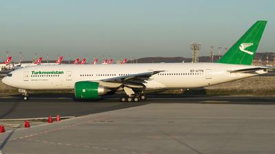A picture of EZA778 - Boeing 77722K(LR) - Turkmenistan Airlines - © Furkan Borakazi