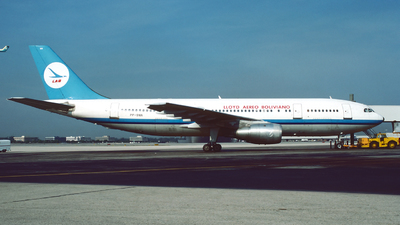 PP-SNN - Airbus A300B2-203 - Lloyd Aéreo Boliviano (LAB)