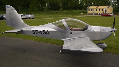 SE-VSA - Evektor Eurostar EV-97 - Hässleholms Flygklubb