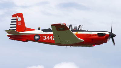 3442 - Beechcraft T-34C Turbo Mentor - Taiwan - Air Force