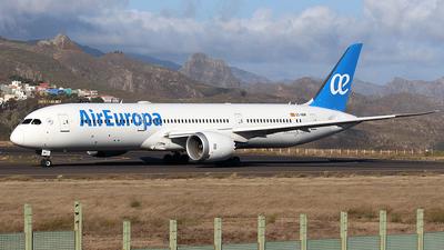 A picture of ECNBM - Boeing 7879 Dreamliner - Air Europa - © La Roche Spotters