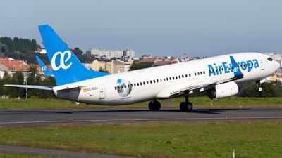 EC-MJU - Boeing 737-85P - Air Europa