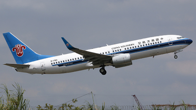A picture of B1780 - Boeing 73781B - China Southern Airlines - © CrazyChan
