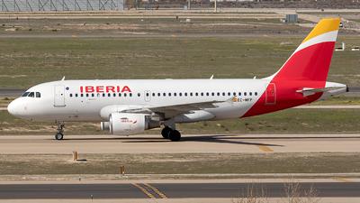 EC-MFP - Airbus A319-111 - Iberia