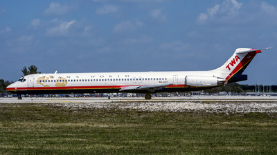 N9413T - McDonnell Douglas MD-83 - Trans World Airlines (TWA)