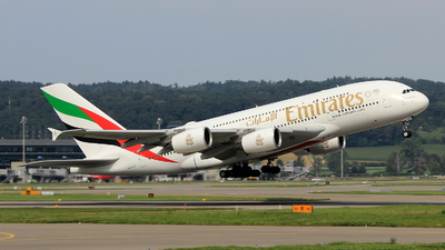 A6-EUD - Airbus A380-861 - Emirates