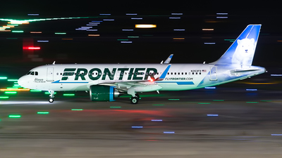 A picture of N353FR - Airbus A320251N - Frontier Airlines - © GFB