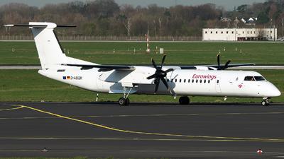 A picture of DABQM - De Havilland Canada Dash 8400 - [4119] - © Stefan Bayer