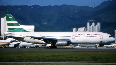 VR-HOK - Lockheed L-1011-1 Tristar - Cathay Pacific Airways