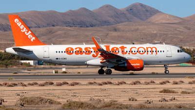 G-EZWU - Airbus A320-214 - easyJet