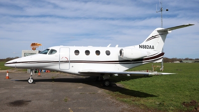 N882AA - hawker Beechcraft 390 Premier I - Private