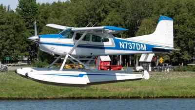 N737DM - Cessna A185F Skywagon - Private