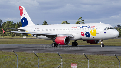 HK-4818 - Airbus A320-214 - VivaColombia