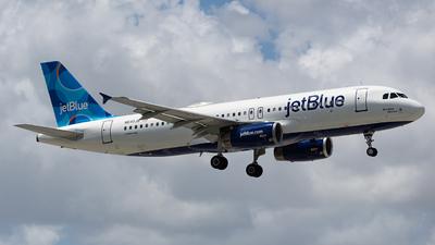 A picture of N640JB - Airbus A320232 - JetBlue Airways - © VictorLeyva45