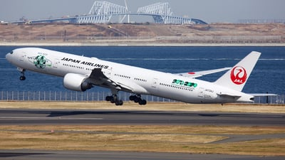 JA734J - Boeing 777-346ER - Japan Airlines (JAL)