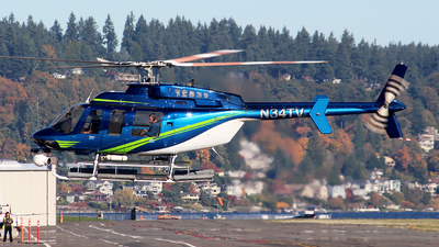 N34TV - Bell 407 - Private