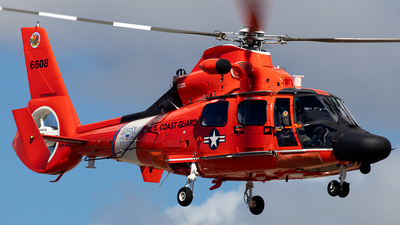 6608 - Aérospatiale MH-65D Dolphin - United States - US Coast Guard (USCG)