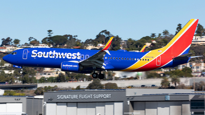 N8523W - Boeing 737-8H4 - Southwest Airlines